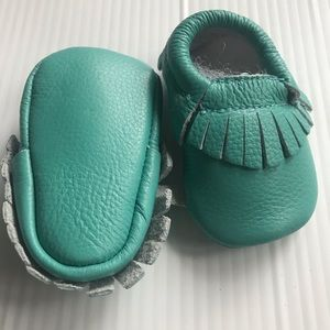 Other - Old stock 100% leather baby mocc